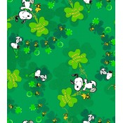 Snoopy Shamrocks </br>Puppy Belly Band