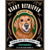 Dog Golden Retriever Golden Ale 8x10 Art Print
