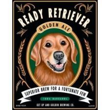 Dog Golden Retriever Golden Ale 8x10 Art Print