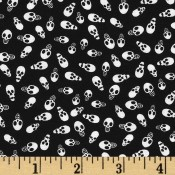 Halloween Small Dark Skulls  </br>Puppy Belly Band CLEARANCE