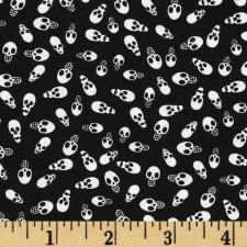 Halloween Small Dark Skulls  Puppy Belly Band CLEARANCE