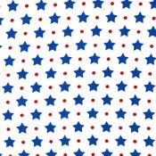 Blue Stars with Dots Puppy Belly Band