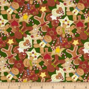 Holiday  Gingerbread Cookie Puppy Belly Band