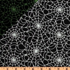 Halloween Glow in the Dark Webs Puppy Belly Band CLEARANCE