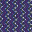 Zag Dot Purple Puppy Belly Band
