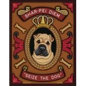 Dog Shar-Pei Diem 8x10 Art Print