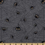 Halloween Black Spiders Puppy Belly Band CLEARANCE