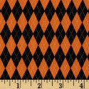 Halloween Argyle Puppy Belly Band CLEARANCE