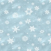 Snowflakes Light Blue </br>Puppy Belly Band