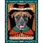 Dog Boxer San Canine de Boxer 8x10 Art Print