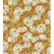 Autumn White & Orange Pumpkins </br>Puppy Belly Band