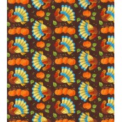 Autumn Wild Turkeys </br>Puppy Belly Band