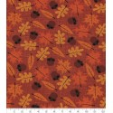 Autumn Acorns & Falling Leaves Puppy Belly Band
