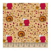 Autumn Snoopy Turkey </br>Puppy Belly Band