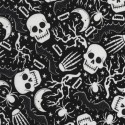 Skulls and Skelton Glow in the Dark  Puppy Belly Band