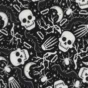 Skulls and Skelton Glow in the Dark  </br>Puppy Belly Band