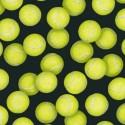 Tennis Ball Black Puppy Belly Band