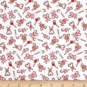 Holiday  Candy Cane White </br>Puppy Belly Band