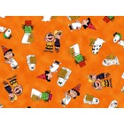 Halloween Snoopy Puppy Belly Band
