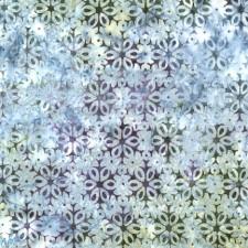 Snowflakes Artisan Batik Puppy Belly Band