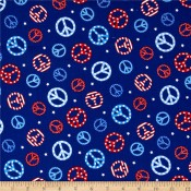 Peace Stars </br>Puppy Belly Band