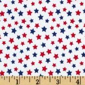 Red and Blue Stars </br>Puppy Belly Band
