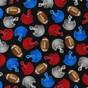 Football Black </br>Puppy Belly Band