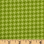Houndstooth Green Puppy Belly Band