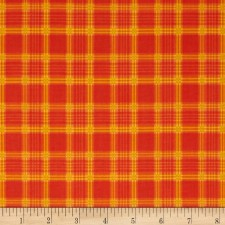 Autumn Harvest Plaid Puppy Belly Band