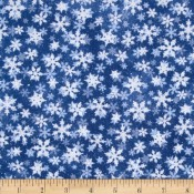 Holiday Snowflakes Puppy Belly Band