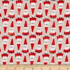 Holiday Santa Khaki Puppy Belly Band