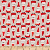 Holiday Santa Khaki Puppy Belly Band