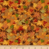 Autumn Orange Leaves </br>Puppy Belly Band
