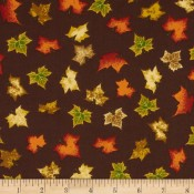 Autumn Falling Leaves </br>Puppy Belly Band CLEARANCE