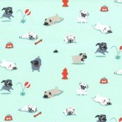 Pugs and Kisses Puppy Puddle Pad