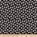 Halloween Glow in the Dark Skulls  Puppy Belly Band