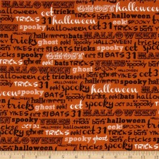 Halloween Spooky Words Puppy Belly Band