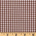 Chocolate Brown Gingham Puppy Belly Band CLEARANCE