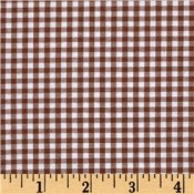 Chocolate Brown Gingham </br>Puppy Belly Band CLEARANCE
