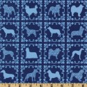 Dogs in Blue Puppy Belly Band CLEARANCE