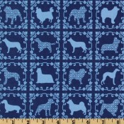 Dogs in Blue </br>Puppy Belly Band CLEARANCE