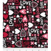Love and Hearts </br>Puppy Belly Band CLEARANCE