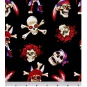Skulls and Crossbones Puppy Belly Band CLEARANCE