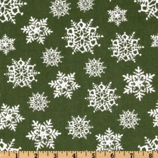 Snowflakes Green Puppy Belly Band CLEARANCE