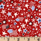Stars Flags Red White and Blue </br>Puppy Belly Band CLEARANCE