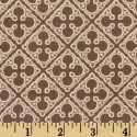 Quatrefoil Linen Puppy Belly Band CLEARANCE
