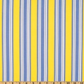 Blue and Yellow Stripe Puppy Belly Band CLEARANCE