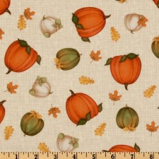 Autumn Pumpkins Puppy Belly Band CLEARANCE