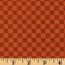 Checker Orange Puppy Belly Band CLEARANCE
