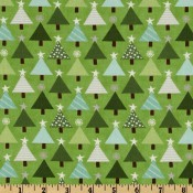 Holiday Green Christmas Trees </br>Puppy Belly Band CLEARANCE